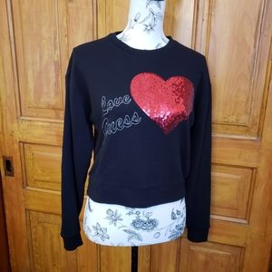 Guess Cropped Sweater, Small